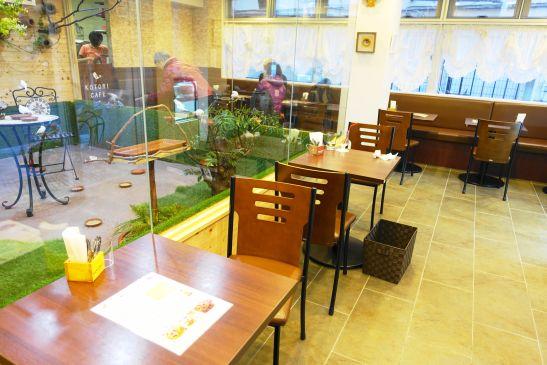 ことりカフェ巣鴨の内観・内装
