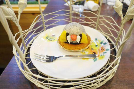 BIRDケーキ「キンカチョウケーキ」