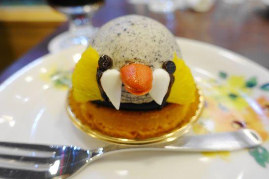BIRDケーキ「キンカチョウケーキ」ズーム