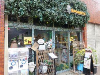 鳥のいるカフェ木場店の外観