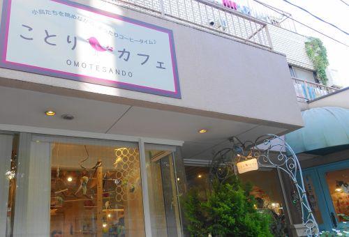 鳥フェス表参道の第二会場の東京の鳥カフェ・ことりカフェ表参道