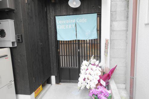 インコカフェ「Lovebird Cafe CHERRY」の外観
