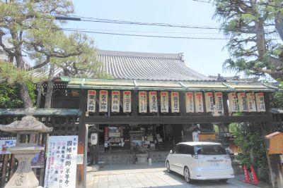 因幡堂(平等寺)の外観・建物の様子
