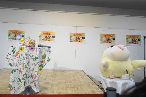 SKE48の高柳明音さんのトークショー(小鳥のアートフェスタ)のトークショー舞台