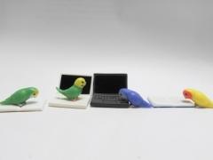 セキセイインコ・コザクラインコの愛鳥家あるあるな鳥ガチャ「じゃまインコ」