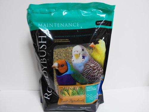 直輸入版ラウディブッシュのパッケージ表(インコなどの飼い鳥の総合栄養食)