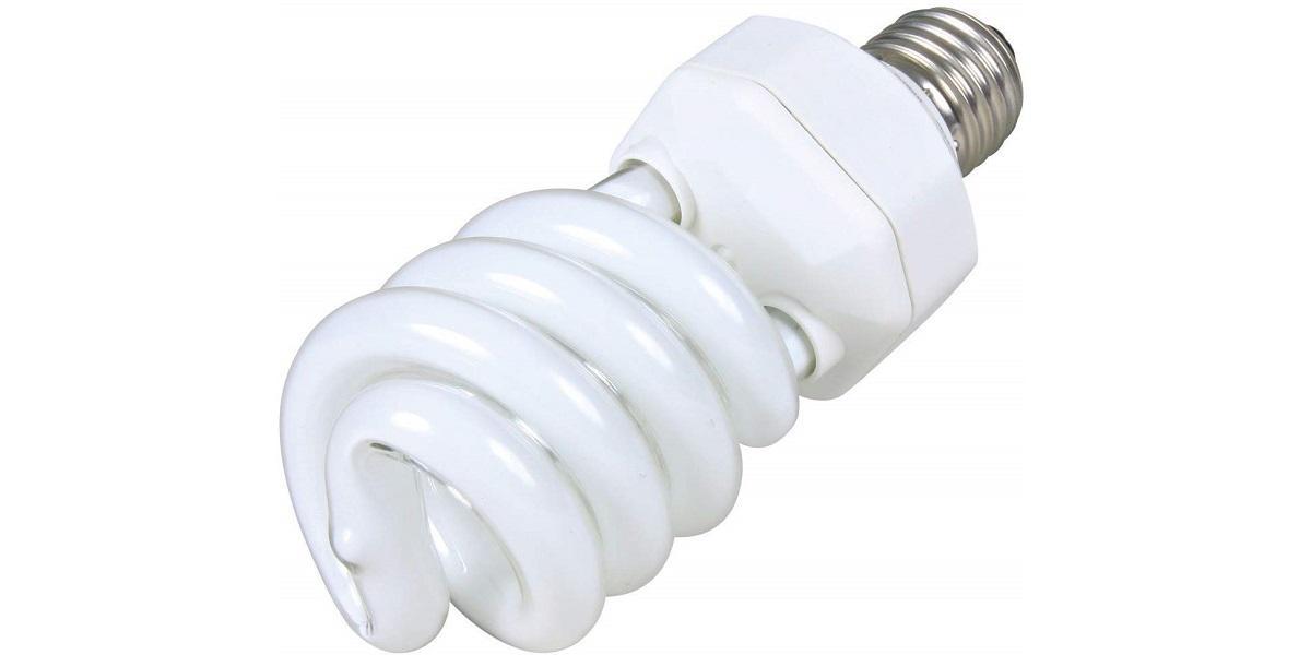 インコ用UVライト(紫外線ライト)の選び方・使用法の解説!日光浴できない時の代用に(写真はスパイラルライト)