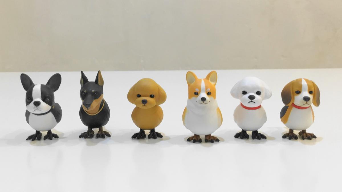 イヌトリの第二弾「イヌトリ2」が登場!初代と異なる種類の犬×鳥のガチャを全6種フルコンプリート!