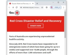 オーストラリア赤十字の寄付を行う方法を解説
