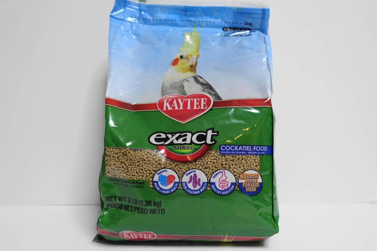Kaytee(ケイティー)のexactナチュラルペレットのパッケージ